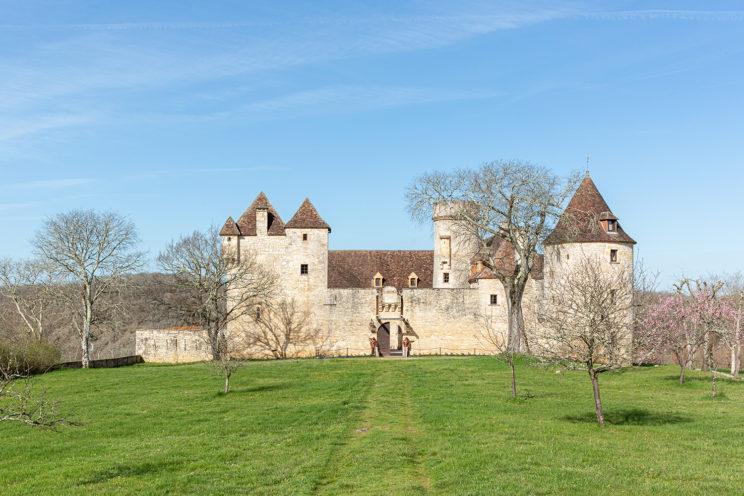 architecture façade château pechrigak