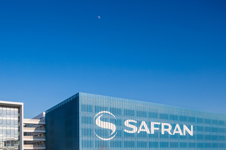 Photographie d'architecture du bâtiment Safran à Toulouse
