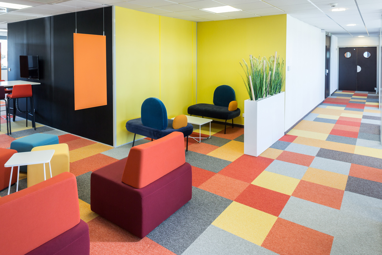 photographie d'architecture d'intérieur et espace tertiaire