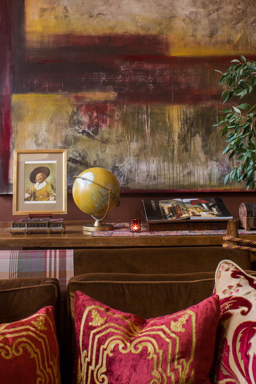Détail sur la décoration de cet appartement à Aix-En-Provence
