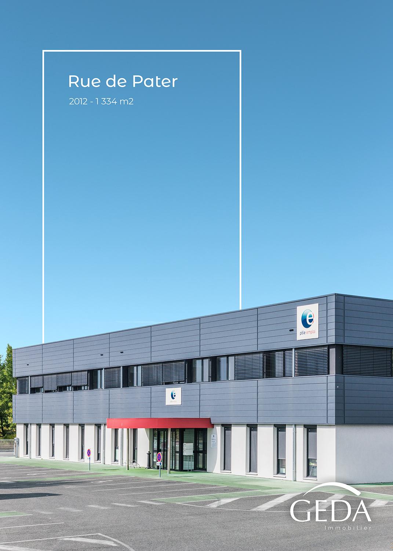 Montage graphique avec la façade du bâtiment de Pôle Emploi à Montauban