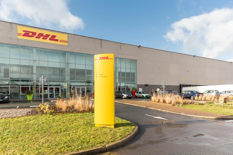 L'entrepôt DHL Supply Chain