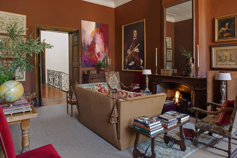 Salon d'un appartement à AIx-En-Provence