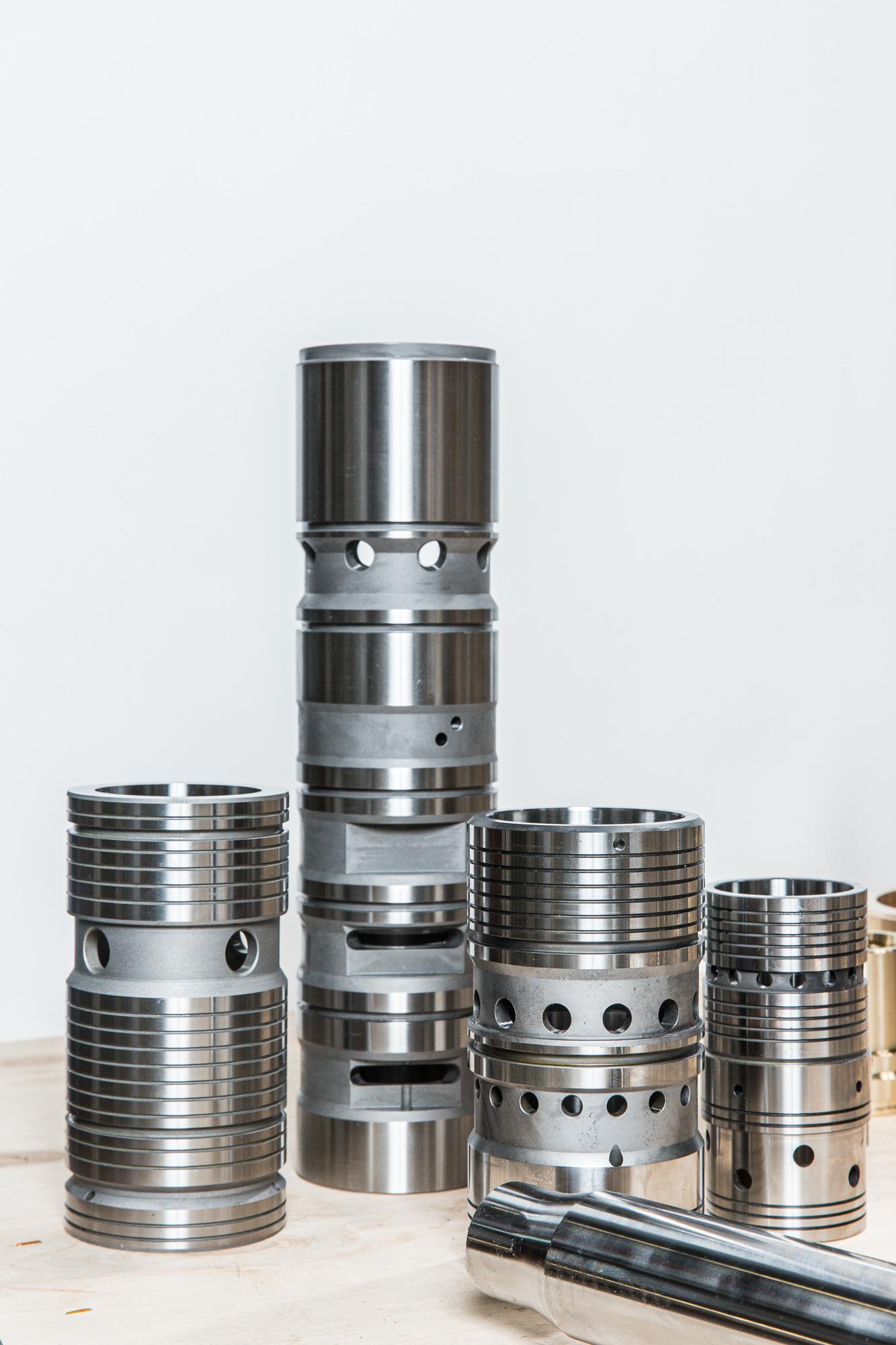 Mise en valeur des pièces mécaniques en studio photo