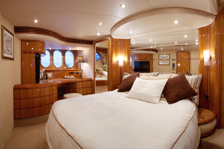 Chambre à coucher sur un bateau en Floride